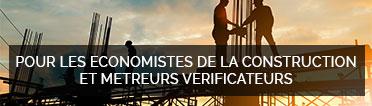 COTISATIONS DU PARITARISME POUR LES ECONOMISTES DE LA CONSTRUCTION ET METREURS VERIFICATEURS